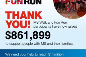 MS walk run